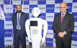 IRA - The robot, created by Invento robotics, launched by HDFC bank